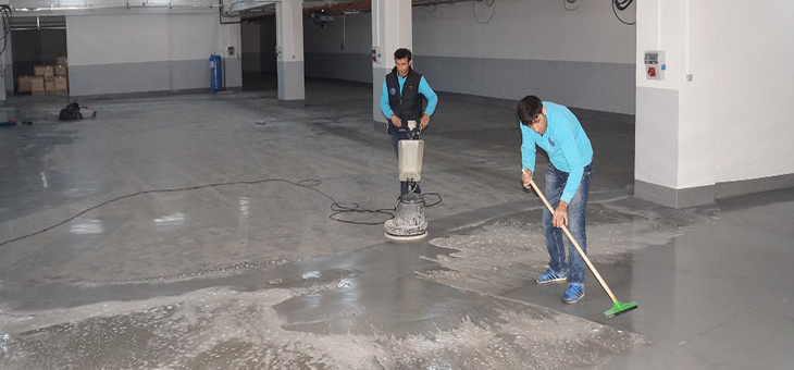 Zemin Temizliği-Bursa Endüstriyel Temizlik